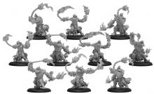 Blighted Trollkin Marauders  Cryx Unit  (resin/metal)